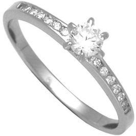 Brilio Silver Stříbrný zásnubní prsten 31G3042 (Obvod 56 mm) stříbro 925/1000