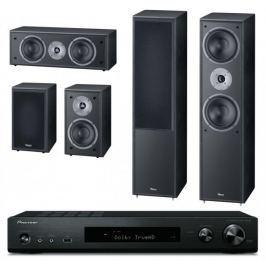 Pioneer VSX-S520D-B + Magnat Monitor Supreme 802 set, černá