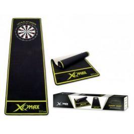 XQMax Darts Dartmat - Koberec k terči - black-green