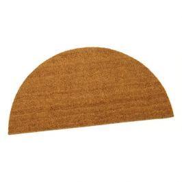 Kokosová vstupní půlkruhová rohož Dream - 90 x 50 x 1,5 cm