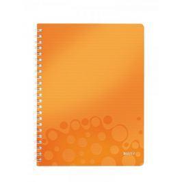 Blok na psaní Leitz WOW A4 linkovaný metalicky oranžový