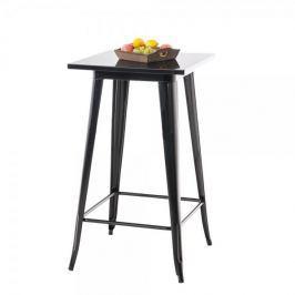 BHM Germany Barový stůl Goran, 106 cm, černá
