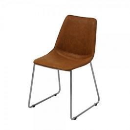 Danish Style Jídelní židle Francesca (SET 4 ks), koňaková