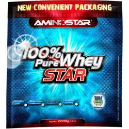 Aminostar 100% Pure Whey Star jahoda, 2000g