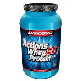 Aminostar Whey Protein Actions 85%, 2000g Jahoda
