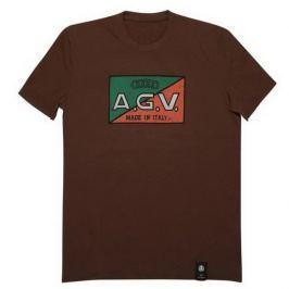 AGV triko  1947 vel.M hnědá