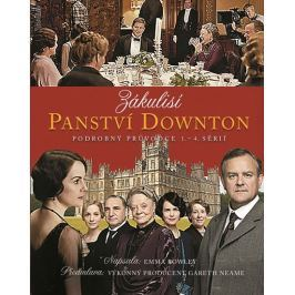Rowleyová Emma: Zákulisí Panství Downton - Podrobný průvodce 1. - 4. sérií