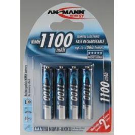 Ansmann 4x AAA Ni-MH akumulátor 1100 mAh