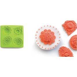Ibili 3D forma na pečení, dorty, čokoládu, fondant - květiny