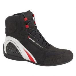 Dainese kotníkové boty MOTORSHOE D-WP JB vel.42 černá/bílá/červená