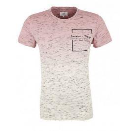 Q/S designed by pánské tričko M růžová
