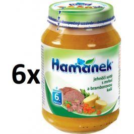Hamánek Jehněčí soté s mrkví a bramborovou kaší 6x190g