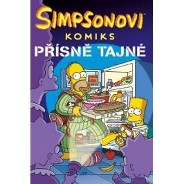 Groening Matt: Simpsonovi - Přísně tajné!