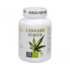 Natural Medicaments Cannabis Power konopné kapsle - 120 kapslí
