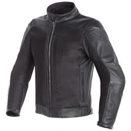 Dainese bunda CORBIN D-DRY (celosezónní) vel.46 černá, kůže/textil