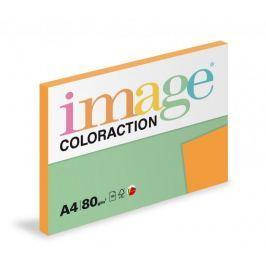 Papír kopírovací Coloraction A4 80 g oranžová sytá 100 listů