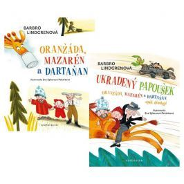 Lindgrenová Barbro: Komplet Oranžáda, Mazarén a Dartaňan + Ukradený papoušek