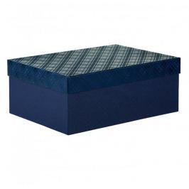 Dárková krabice Bety 6, tmavě modrá - 40x28x15,5cm