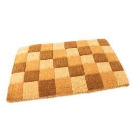 FLOMAT Kokosová vstupní rohož Squares - 75 x 45 x 4,7 cm