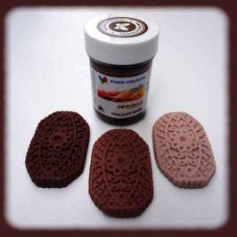 Food Colours Gelová barva  (Chocolate Brown) čokoládová 35 g