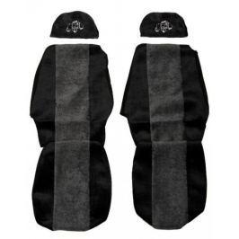 F-CORE Potahy na sedadla PS19, šedé