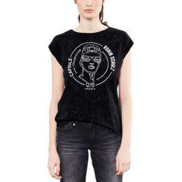 s.Oliver dámské tričko S černá