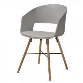 Danish Style Jídelní židle Nadja (SET 2 ks), šedá