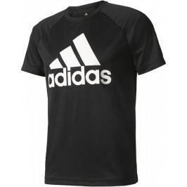 Adidas D2M Tee Logo Black L