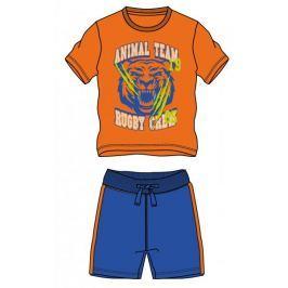 Mix 'n Match chlapecký letní set 98 modrá/oranžová