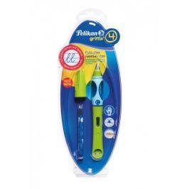 Pelikan Bombičkové pero pro praváky Griffix 4 zelené