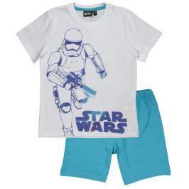E plus M chlapecké pyžamo Star Wars 110 bílá