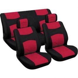 CarPoint Potahy sedadel - červené / černé