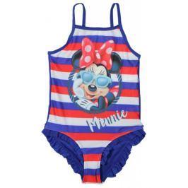 E plus M dívčí plavky Minnie 104/110 modrá