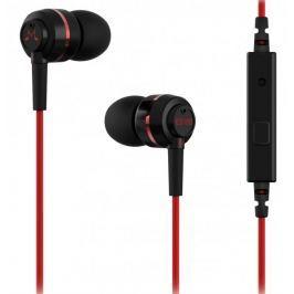 SoundMAGIC ES18S, černá/červená