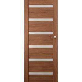 VASCO DOORS Interiérové dveře EVORA kombinované, model 5, Merbau, D