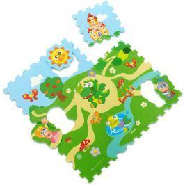 Chicco Puzzle pěnové Hrad 30x30cm 9ks