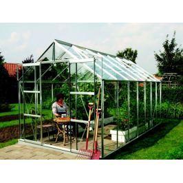 VITAVIA skleník VITAVIA URANUS 11500 čiré sklo 3 mm stříbrný