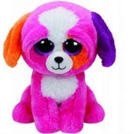 TY PRECIOUS růžový pes 24 cm