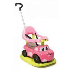 Smoby Odrážedlo auto rocking pink elektronické
