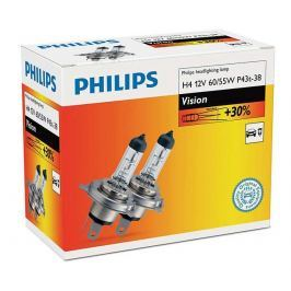Philips Vision H4, 12 V, 60/55 W, 2 ks