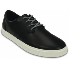 Crocs CitiLane Leather Lace-up M Black/White 43-44 (M10)