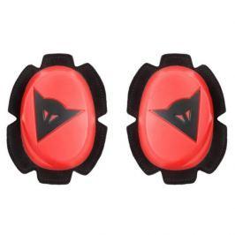 Dainese kolenní slidery PISTA, fluo červená/černá (pár)