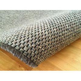 Kusový tmavě béžový koberec Nature 80x150 cm