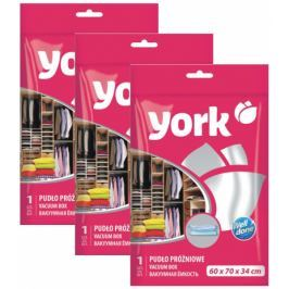 York Vakuový box 60x70x34cm - set 3ks