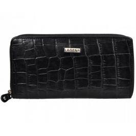 Lagen Dámská černá kožená peněženka Black 3771/C-1