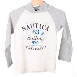 Nautica chlapecká mikina s kapucí 110 šedá