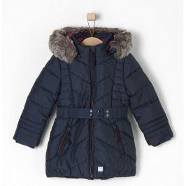 s.Oliver dívčí kabát 110 modrá