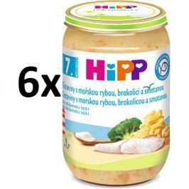 HiPP Tagliatelle smořskou rybou, brokolicí a smetanou - 6x220g