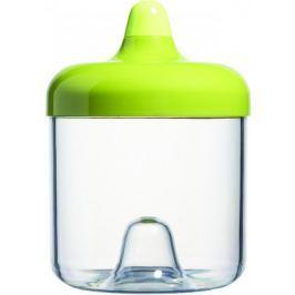 Viceversa Stohovatelná plastová dóza 750ml zelená s víčkem