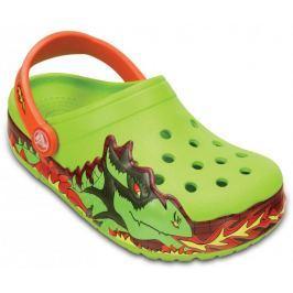 Crocs CrocsLights Fire Dragon Clog K Volt Green 23-24 (C7)